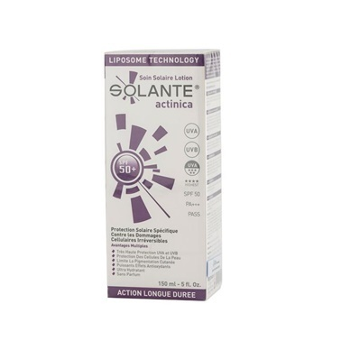 Solante SOLANTE Actinica SPF 50+ Losyon 150 ml Renksiz